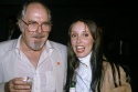 Robert Altman with Shelley Duval at Time Bandits release party