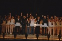 Curtain call (with cast) - Simon Cowell, Elton John, Harry Taylor, Liam Mower, Sharo Photo