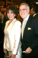Michele Lee and husband/TV producer Fred Rappaport