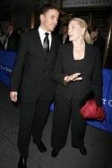 Joe Machota and Lauren Bacall