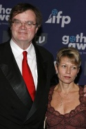 Garrison Keillor and wife