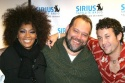 Jody Watley, Sirius Radio's Larry Flick and Josh Zuckerman