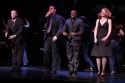 Matthew Morrison, Steve Kazee, Sean Patrick Thomas and Abigail Rose Soloman