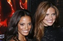 Selita Ebanks and Adriana Lima