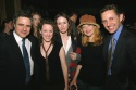 Neil Pepe (Artistic Director), Samantha Soule, Emily Mortimer, Patricia Clarkson, and Todd Weeks
