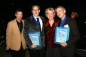 Michael Kerker, ASCAP Vice President of Musical Theatre, Michael Korie, Christine Ebersole and Scott Frankel