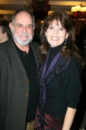 Laurence Luckinbill and Lucie Arnaz