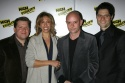 The creative team: David Lindsay-Abaire, Amanda Green, Nick Hornby and Tom Kitt