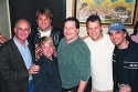 Rick Wolkenberg, Jeff Calhoun, Charles Buffet, Gary Maffet (center), Scott Prisand and Jonathan Binsky