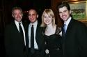 Scott Frankel, Nehal Joshi, Erin Davie and Matt Cavenaugh of the Broadway musical Gre Photo