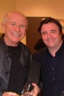 Terrence McNally and Nathan Lane Photo