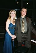 Kelli O'Hara and Steven Blier (NYFOS Co-Artistic Director)