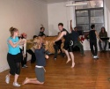 """Dylis Cromin, Travis Wall, and Tyler Haines in """"Glory"""" Photo"""