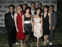 The cast, including Eric Santagata, Lorin Latarro, Sarah Jane Everman, Mike McGowan, Sean Palmer, Jennifer Taylor, Julie Connors, Meggie Cansler, Justin Keys and Dennis Stowe