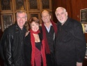 Steve Schalchlin, Donna McKechnie, Maxwell Caulfield, and Jim Brochu Photo