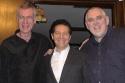 Steve Schalchlin, Michael Feinstein and Jim Brochu Photo