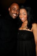 Terron Brooks and Kamilah Martin Marshall Photo