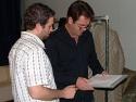 Huey Lewis and David Rossmer