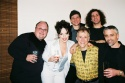 Bottom Row: Kerry Meads (Percussion), Leslie Kritzer, David Lewis (Musical Director), Jim Hershman (Guitar), Top Row: Jason DiMatteo (Bass), and Scott Morehouse (Drume)