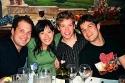 Jordon Gelber, Ann Sanders, Barrett Foa and Stephen Oremus Photo