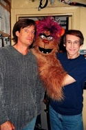 Kevin Sorbo, Trekkie Monster and Rick Lyon