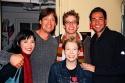 Ann Sanders, Kevin Sorbo, Barrett Foa, Zachary Levi and Jennifer Barnhart Photo