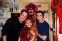 Jordon Gelber, Carol Lawrence, Trekkie Monster and Rick Lyon Photo