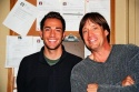 Zachary Levi and Kevin Sorbo
