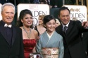 Clint Eastwood and wife with Kaho Minamiat and Ken Watanabe