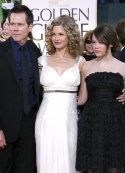 Kevin Bacon, Kyra Sedgwick and daughter