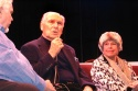Jim Brochu speaking with Donald Saddler and Marge Champion Photo