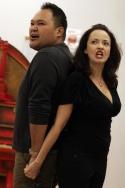 Orville Mendoza and Michele Ragusa Photo