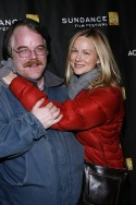 Philip Seymour Hoffman and Laura Linney