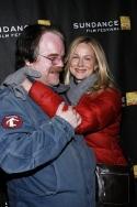 Philip Seymour Hoffman and Laura Linney