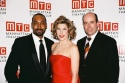 Jesse L. Martin, Christine Baranski and Christopher Ashley