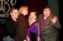The cast of When the Lights Go On Again: Paul Kropfl, Connie Pachl, Christina Morrell and Bill Daugherty