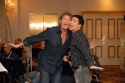 "David Hasselhoff and Rich Affannato rehearse ""Keep It Gay"""