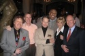 Robert R. Blume, Jim Dale, Steve Ross, Geoffrey Holder, Margot Astrachan, Peter Felix (President, St. George's Society of New York)