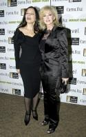 Fran Drescher and Morgan Fairchild