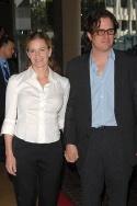 Elisabeth Shue and Davis Guggenheim Photo
