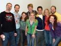 Marc Kudisch, Gibson Frasier, Celia Keenan-Bolger, Barrett Foa, Sarah Saltzberg, Ste Photo