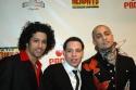 Ensemble member Luis Salgado, Robin de Jesus and Seth Stewart (Graffiti Pete) Photo