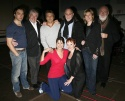Hadley Fraser, John McColgan, Alain Boublil, Claude-Michel Schonberg, Moya Doherty, Frank Galati, (bottom) Stephanie J. Block and Linda Balgord