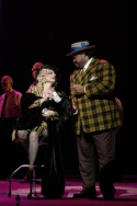 Patti LuPone and Donnie Ray Albert Photo