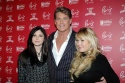 David Hasselhoff with daughters Taylor-Ann and Hayley Photo