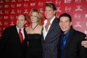 Brad Oscar, Leigh Zimmerman, David Hasselhoff and Rich Affannato