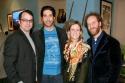 David Catlin, David Schwimmer, Lisa Green and Joey Slotnick