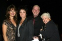 Ron Abel poses with the 3 lovely ladies - Lucie Arnaz, Michelle Lee, and Valerie Armstrong