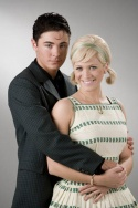 """Zac Efron as """"Link Larkin"""" with Brittany Snow as """"Amber von Tussle"""" Photo"""
