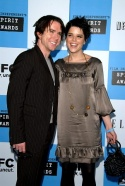 Christian Campbell and Neve Campbell